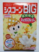 日清シスコ シスコーンBIGミックスフルーツ味(期間限定)