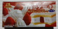 森永アイス 苺のケーキアイス